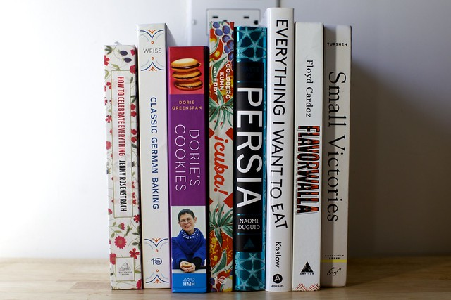 some new cookbooks