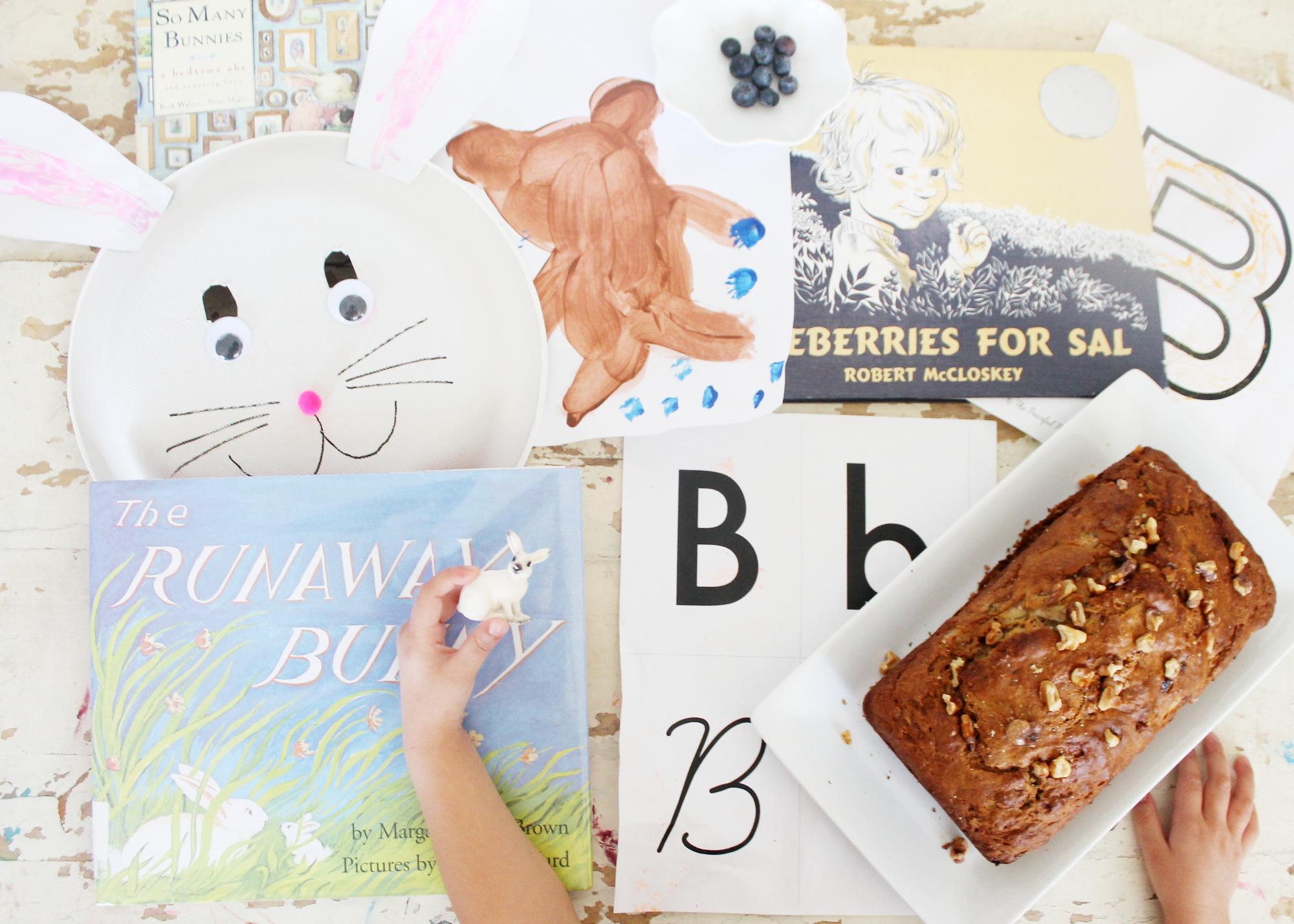 learning letter b