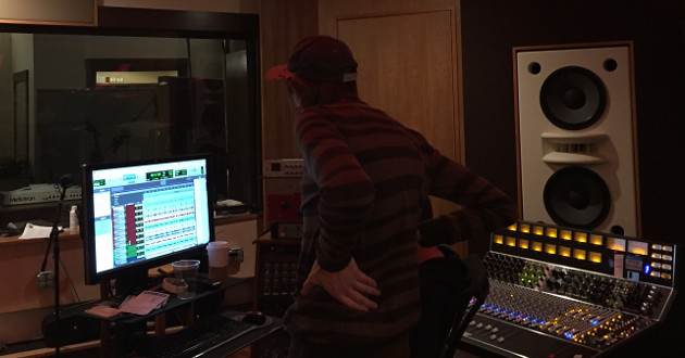 Notes From The Underground: Aüva's Day One in The Studio at Mad Oak with Benny Grotto
