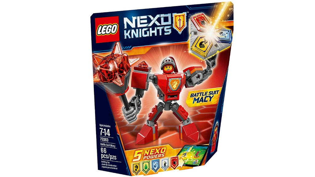 LEGO Nexo Knights 70363 - Battle Suit Macy