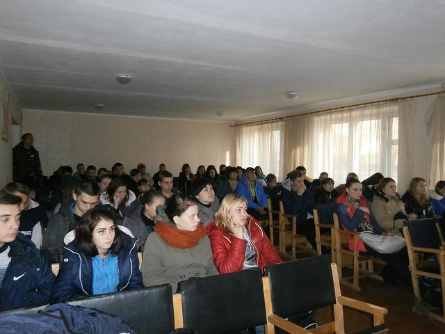 зустріч-круглий стіл з представниками Красноградського районного молодіжного центру