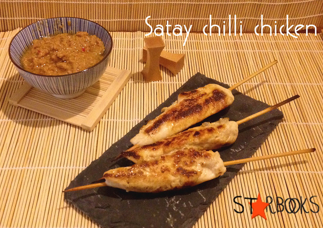 Satay chilli chicken