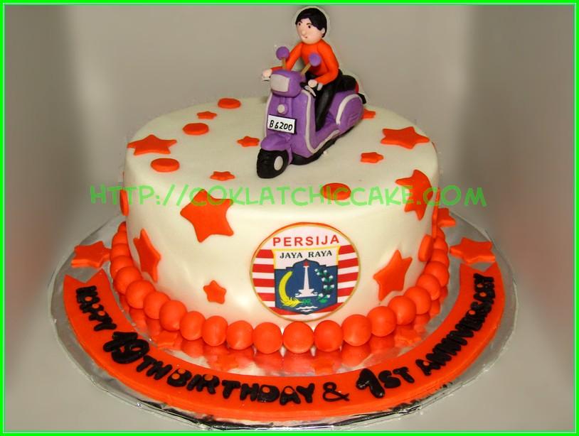 Cake Persija Vespa