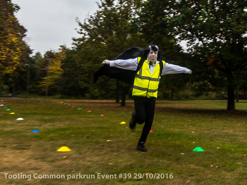 Tooting Common parkrun event #39 29/10/2016