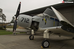 132534 - VR-712 - - US Navy - Douglas AD-5N Skyraider - Evergreen Air and Space Museum - McMinnville, Oregon - 131026 - Steven Gray - IMG_9030