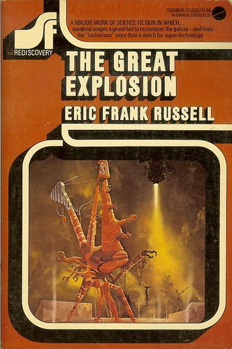 Great Explosion - Eric Frank Russell - cover artist Chris Foss
