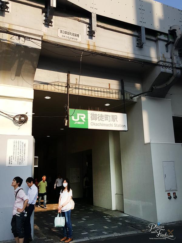 tokyo ueno jr okachimachi station