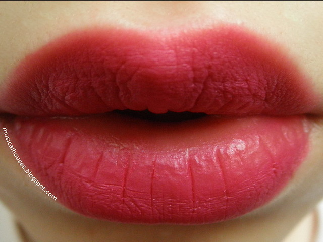 Loreal Tint Caresse Orchid Blossom Lip Swatch B04