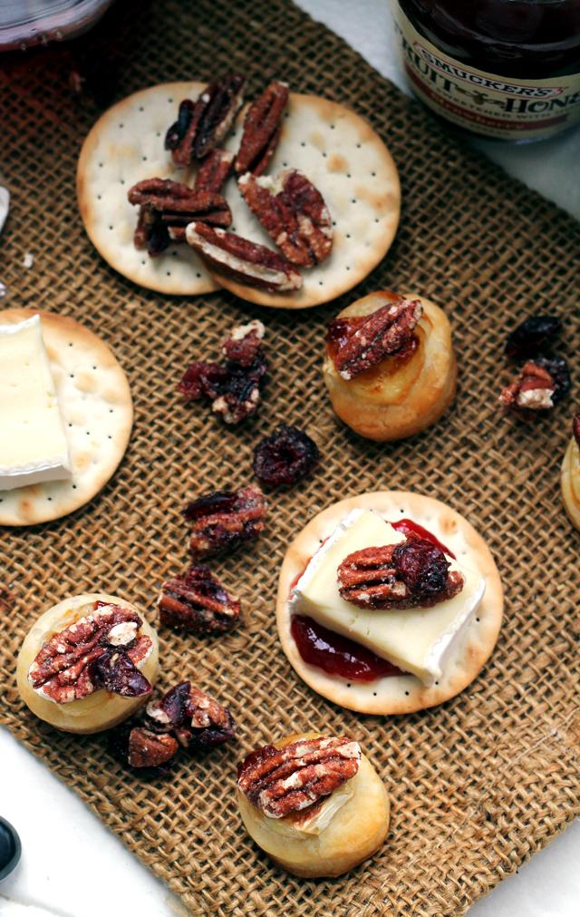 Mini Baked Brie Bites