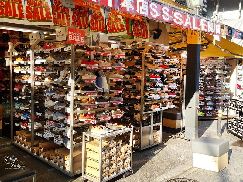 tokyo ueno ameya yokocho shoes