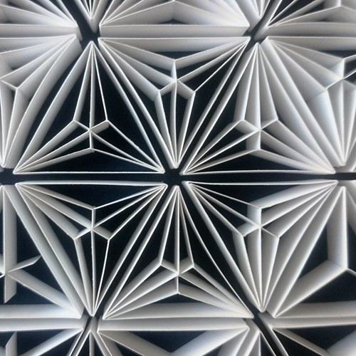 Quilled Tessellation by Judith+Rolfe