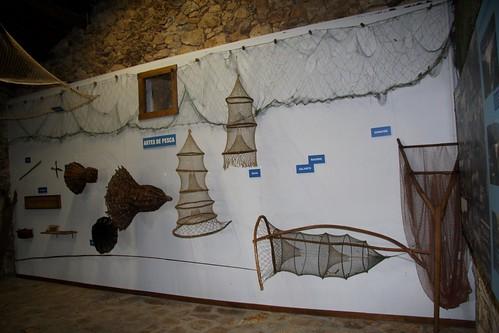 Artes de pesca. Ecomuseo de Arxeriz