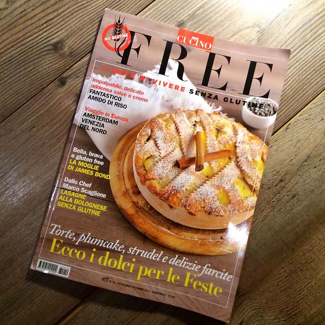 FREE Novembre 2016 - La mia crostata di ricotta in copertina