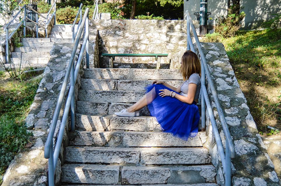 Blue skirt-1-3