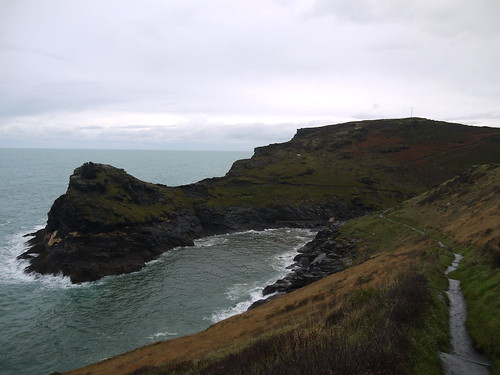 Coming Back into Boscastle