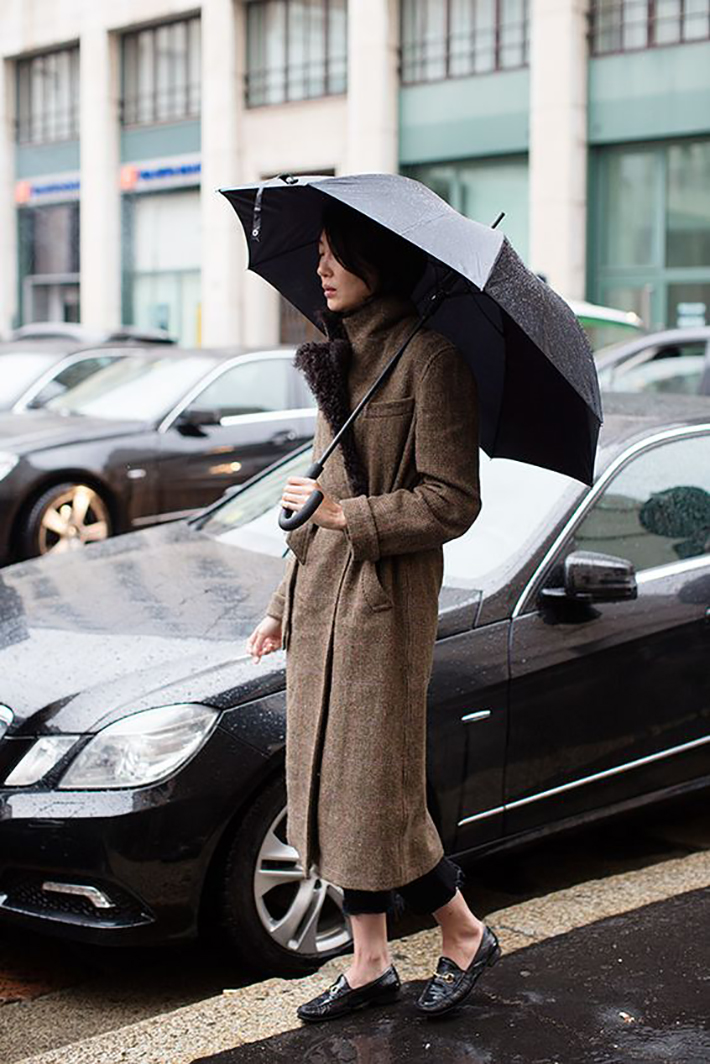 rainy day outfit accessories fall style streetstyle winter style fashion trend3