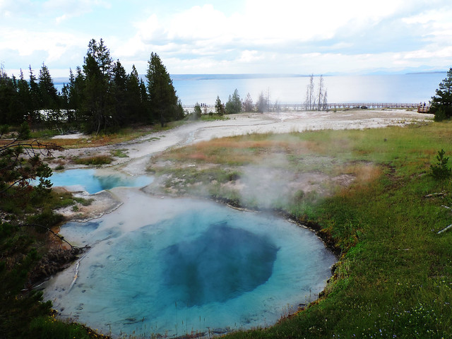 Yellowstone's Geothermal Wonders: West Thumb Geyser Basin, Yellowstone National Park
