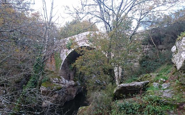Ponte Taboada. Río Deza