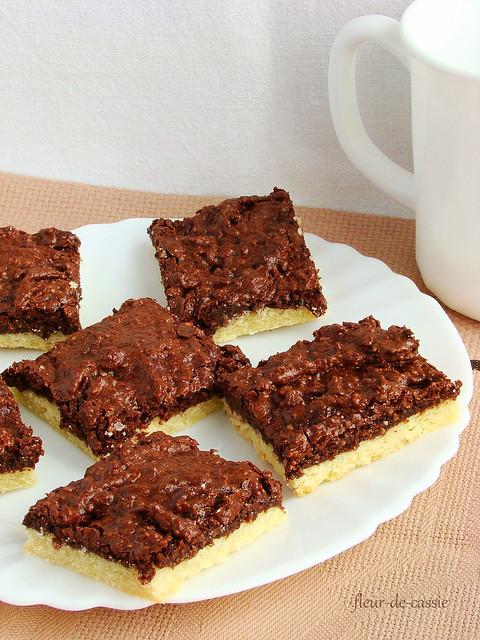 линцерское печенье с орехами 1