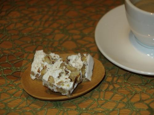 Torrone tenero ai Nocce (= Soft-Nougat Variante Walnuss) von Casa Rinaldi