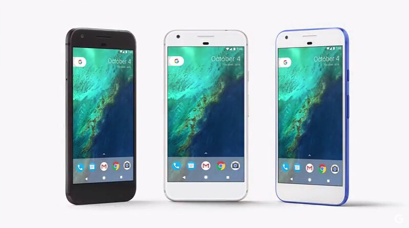 Смартфоны Google Pixel и Pixel XL