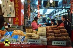 Marché de Dihua Taipei Taiwan