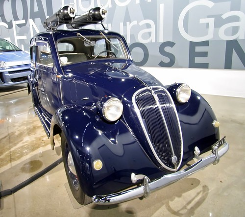 1939 Fiat 508C Balilla converted for CNG - Petersen Museum (7768)