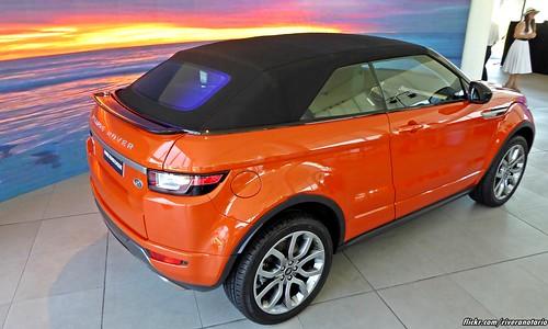 Land Rover Range Rover Evoque Convertible | Lanzamiento en Chile