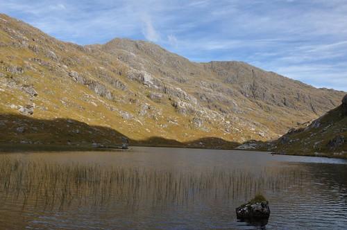 Garbh Chioch Mhor above Lochan a'; Mhaim