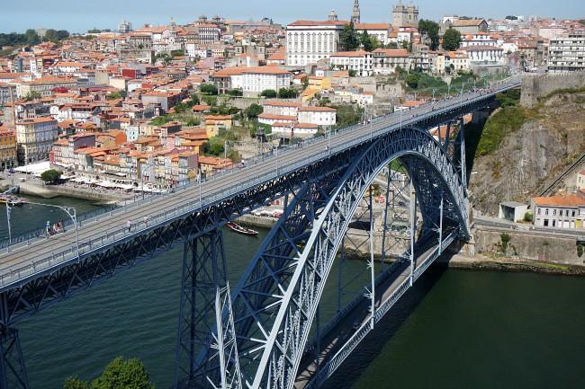 Porto - ponte Dom Luis  (1)
