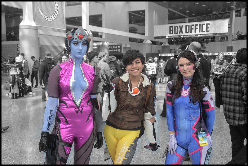 Costumes in Color - LA Comic Con 2016