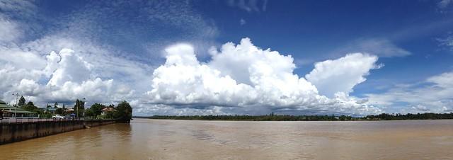 Ferry ride sungai rajang kanowit sarawak