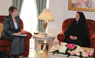 HRH Princess Sabeeka receives UNDP Chief | by UNDP in the Arab States