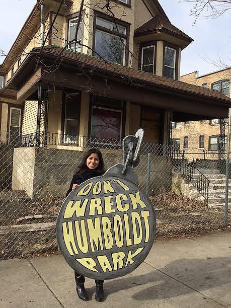 Lynda don't wreck Humboldt Park
