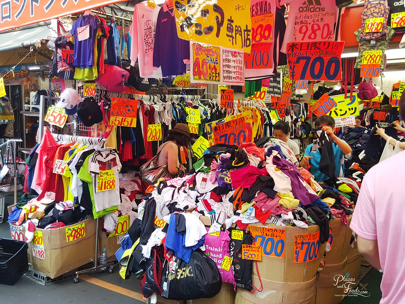tokyo ueno cheap sports clothes