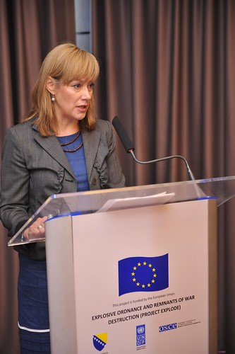 Acting Head of OSCE Mission to BiH, Nina Suomalainen | by United Nations BiH