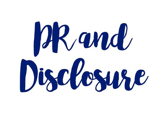 PR Info & Disclosure Policy