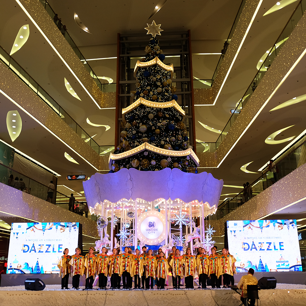 SM Seaside City Cebu Christmas Tree 2016