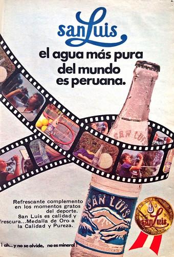 Agua San Luis | 1979 Diciembre (Reader's Digest Perú)