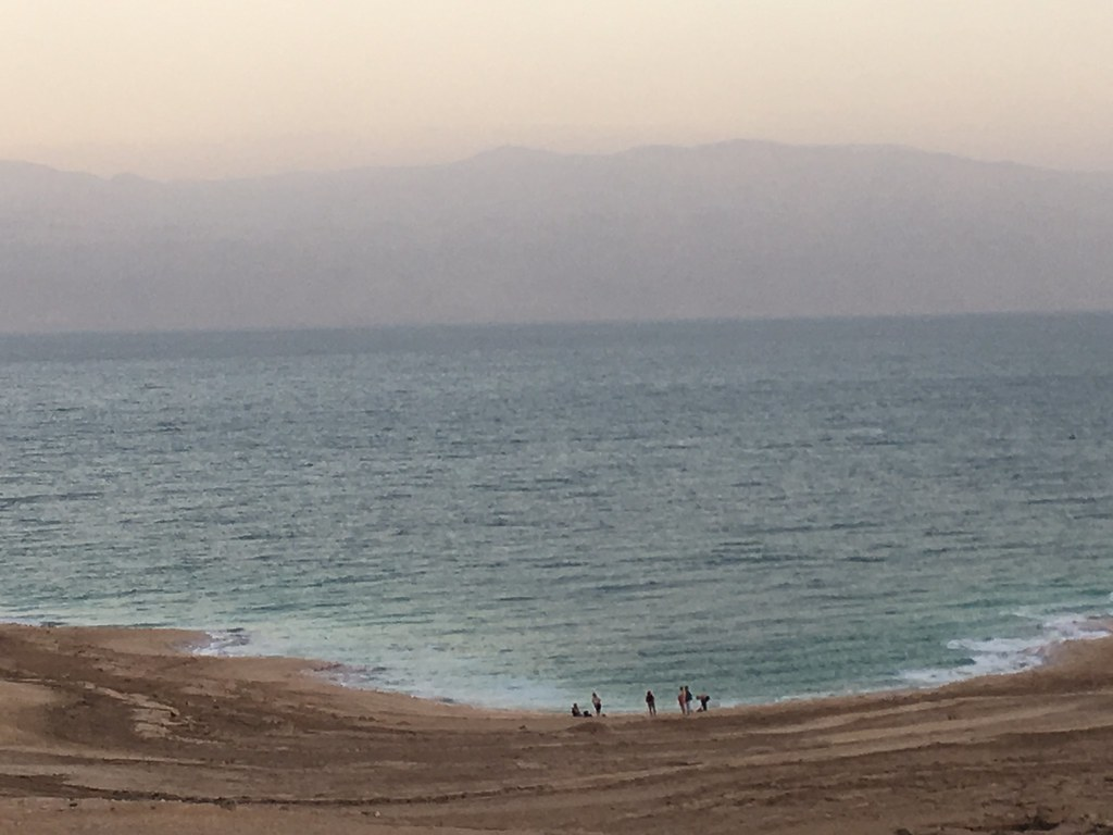 Dead Sea and its the Jordan visible on the other side