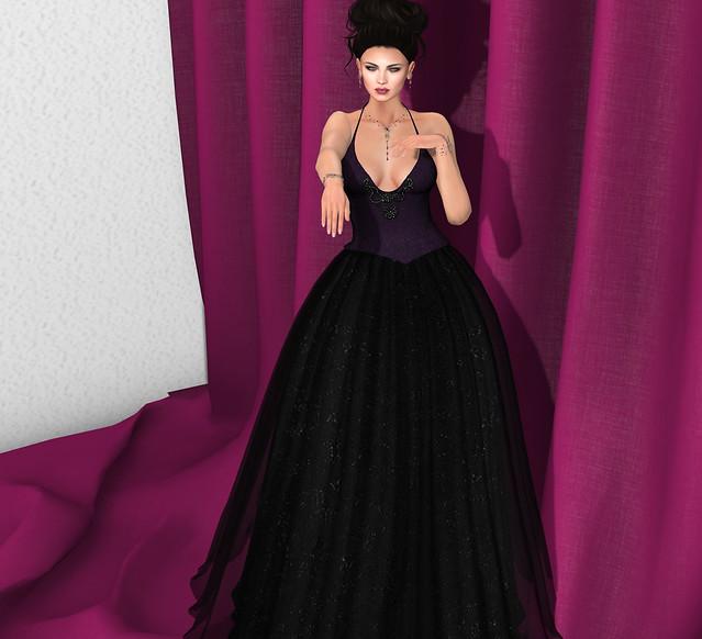Gala Sparkling Brocade Gown, Sn@tch