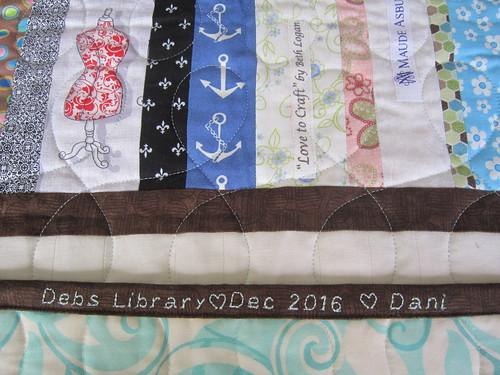 Deb's quilt