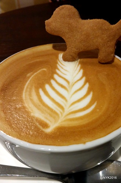 Flat White and Doggy Biscuit