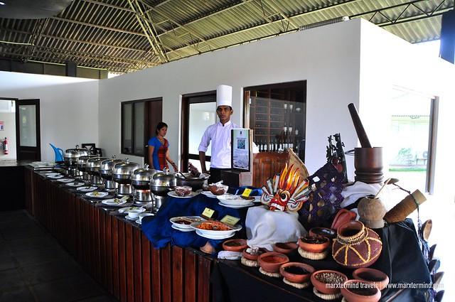 Buffet Selection at Camellia Resort and Spa