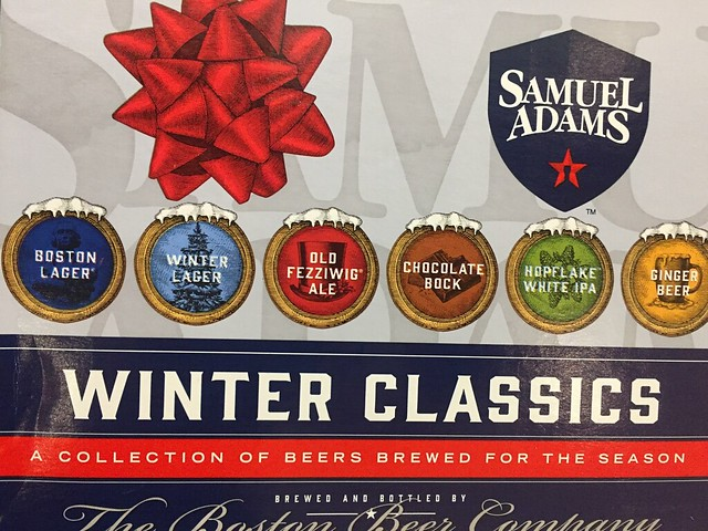 release samuel adams winter classics 2016 - White Christmas Sam Adams