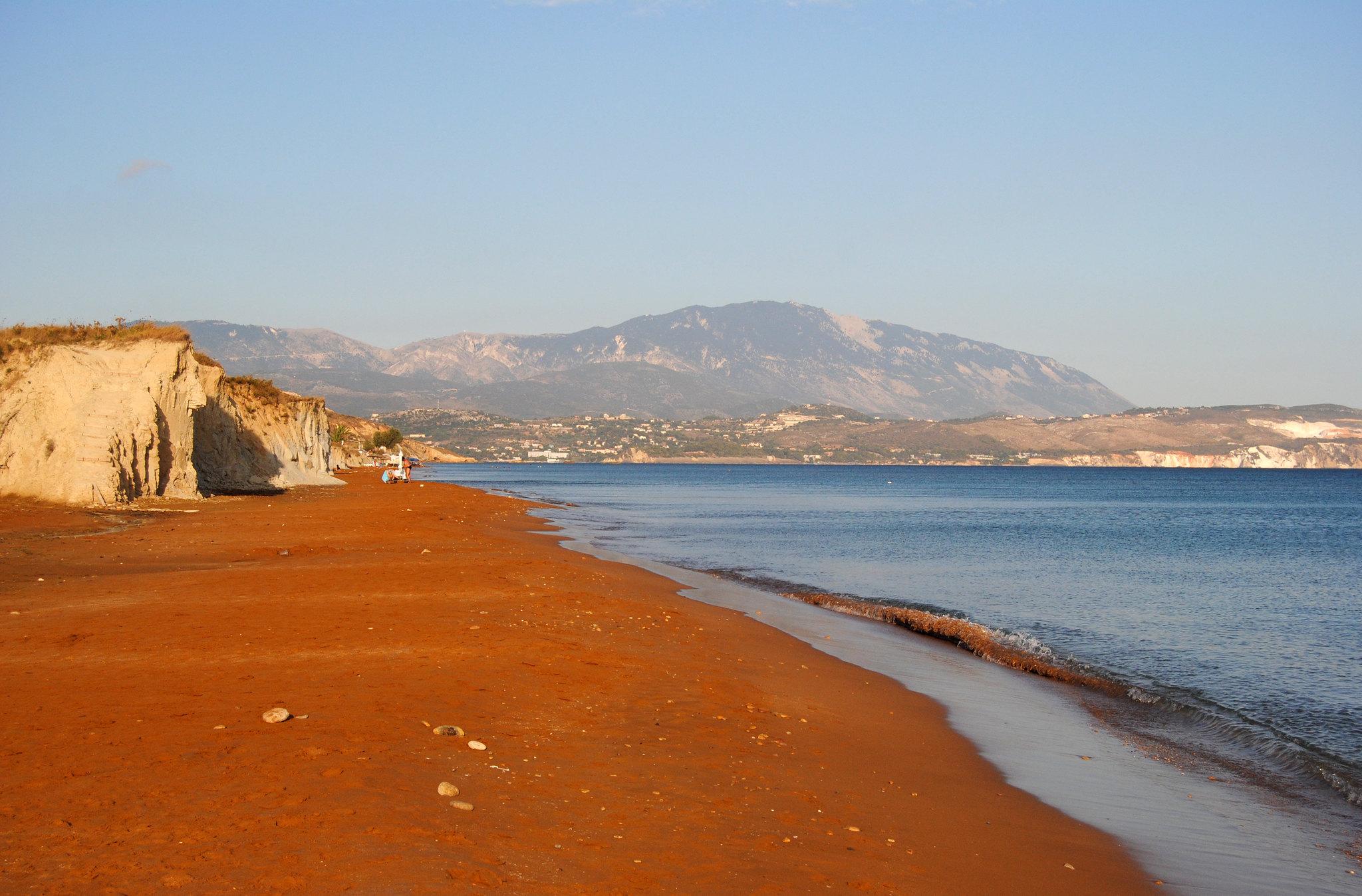 Xi beach, Lixouri