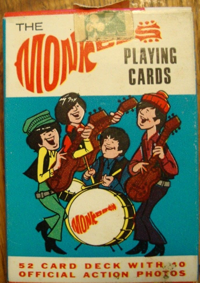 monkees_playingcards