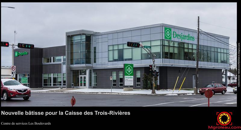 Nouvelle bâtisse pour la Caisse des Trois-Rivières