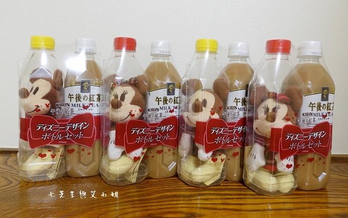 3 日本必買 午後的紅茶 米奇米妮吊飾娃娃限定組合