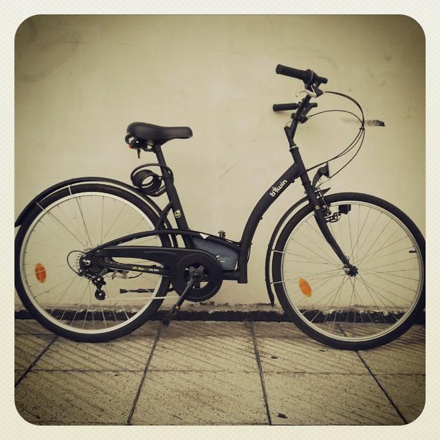 La costabici. Segunda mano forever :) a currar a pedal cuando no llueva